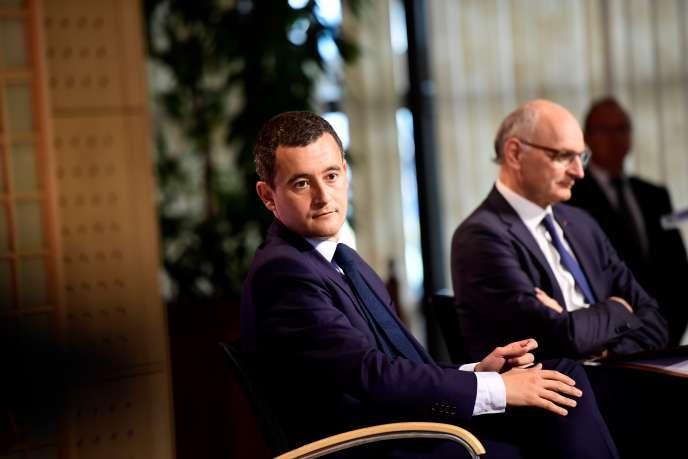 Gérald Darmanin, ministre de l'action et des comptes publics, le 6 juillet au ministère de l'économie.