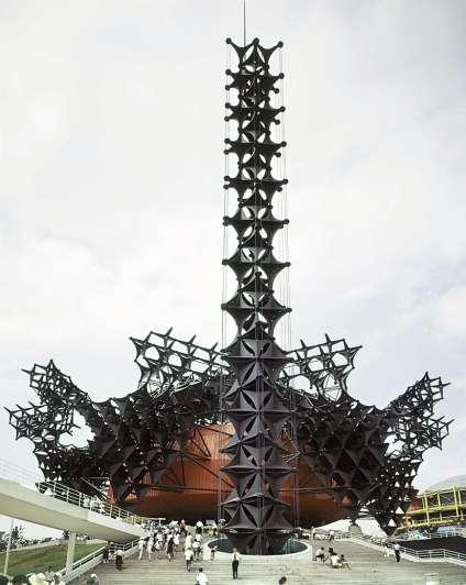 Pavillon Toshiba IHI, de Kishô Kurokawa, Osaka.