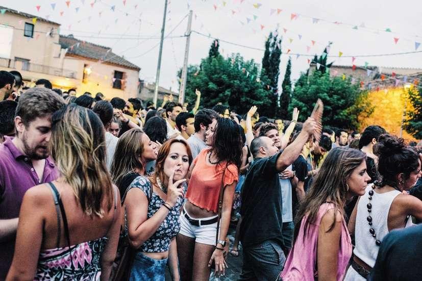 Le festival d'été deVilamacolum rassemble de nombreux Catalans et touristes.