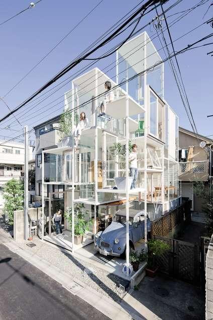 House NA, de Sou Fujimoto, Tokyo.