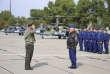 Des pilotes militaires russes à leur arrivée dans un aéroport de Biélorussie, le 12 septembre, avant les exercices militaires conjoints entre les deux pays.