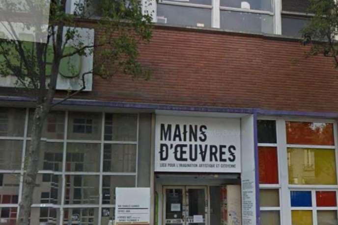 L'association Mains d'œuvres à Saint-Ouen (Seine-Saint-Denis) estinstallée depuis 2001 dans l'ancien siège de la société Valeo.