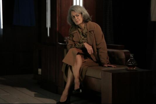 La comédienne Dominique Valadié irradie dans«Au but», de Thomas Bernhard, mis en scène par Christophe Perton, au Théâtre de Poche-Montparnasse.