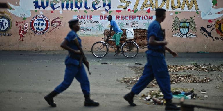 A Bujumbura, capitale du Burundi, en mai 2015.
