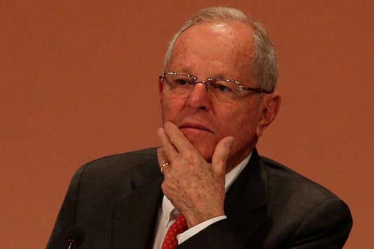 Pedro Pablo Kuczynski, le président du Pérou, le 14 septembre.