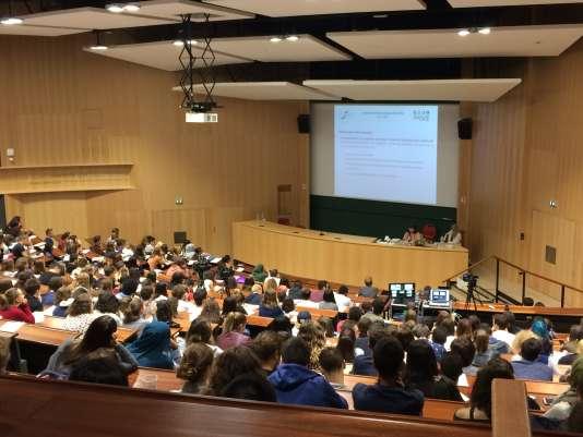 Rentrée de septembre 2017 à l'université de Strasbourg.