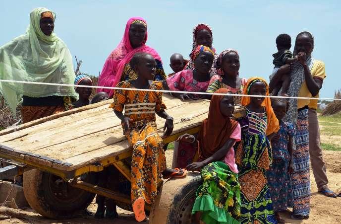En septembre, à NGagam au Niger. Le pays possède le taux de fécondité le plus important au monde: 7,3enfants par femme.