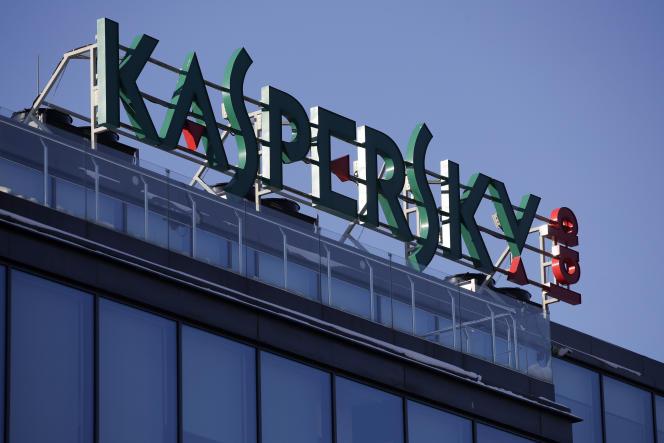Le siège de Kaspersky Lab à Moscou, en janvier.