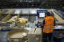 L'entrepôt Chronopost International de l'aéroport Roissy-Charles-de-Gaulle, en septembre 2016.
