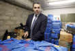 (FILES) This file photo taken on December 14, 2012 shows François Thierry, former head of the French Central Office for the Suppression of Illicit Drugs Trafficking, presenting 2.5 tons of cannabis resin seized by French police, in Nanterre, outside Paris. Francois Thierry was put under investigation for drug trafficking on August 25, 2017. / AFP / Patrick KOVARIK AND Patrick KOVARIK