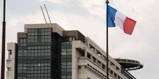 Le ministère des finances, à Paris, en 2012.