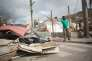 Illustrations des dégâts après le passage de l'ouragan IRMA dans le quartier de Sandyground à Marigot Saint Martin, le 13 septembre 2017. Photo by ELIOT BLONDET/ABACAPRESS.COM