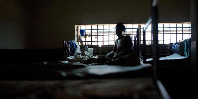 A la prison de Monrovia, au Liberia, en 2011. Photo d'illustration.