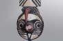 Masque luruya, bwa, Burkina Faso, début du XXe siècle, bois et pigments, 70 x 30 cm. Provenance : collection privée française.