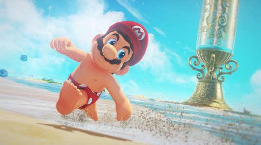 Dans«Super Mario Odyssey», Mario pourra pour la première fois se promener torse nu.