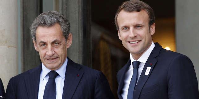 Emmanuel Macron entretient la flamme avec Nicolas Sarkozy
