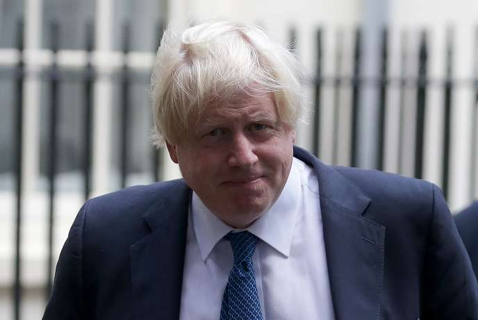 Boris Johnson, le ministre britannique des affaires étrangères, le 15 septembre 2017, à Londres.