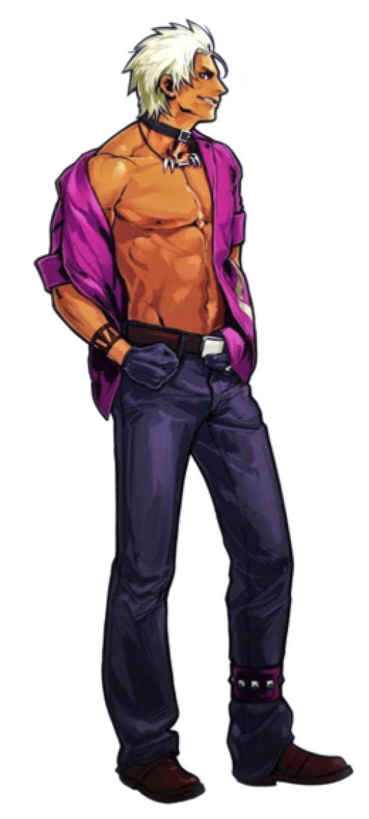 Shen Woo, « The King of Fighters».
