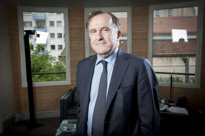 Pierre Ferracci, PDG de Groupe Alpha, en mai 2016.