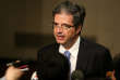 French Ambassador to the United Nations Francois Delattre speaks to reporters ahead of the Security Council consultation on the situation of North Korea's missile test, in Manhattan, New York, U.S., September 15, 2017. REUTERS/Amr Alfiky