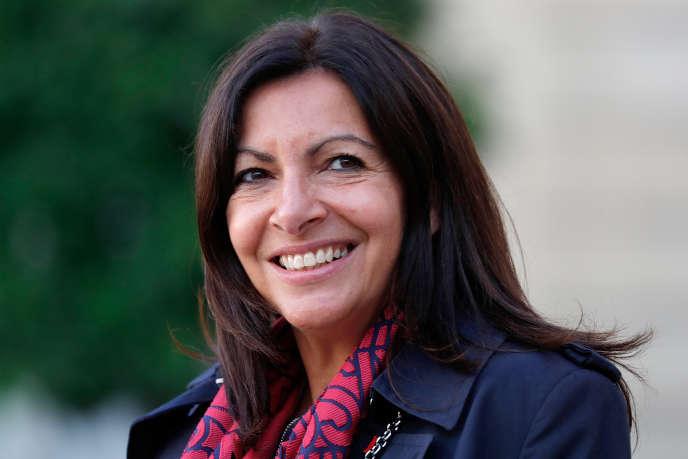 Anne Hidalgo, maire de Paris, à l'Elysée, le 15 septembre.