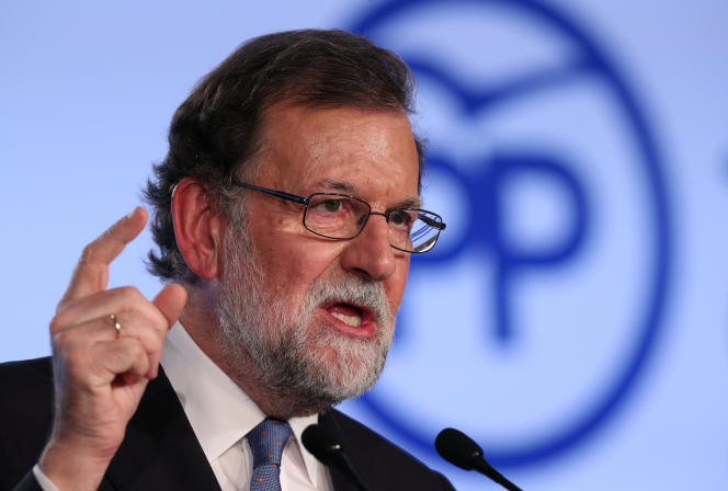 Mariano Rajoy à Barcelone, le 15 septembre.