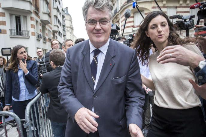 L'ancien ministre Jean-Paul Delevoye, le 11 mai 2017, à Paris.
