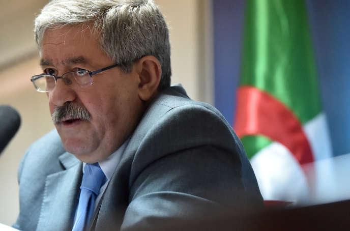 Ahmed Ouyahia, le premier ministre algérien, 11 juin, à Alger.