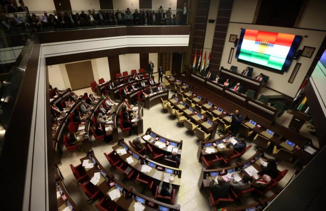 Le Parlement de la région autonome du Kurdistan irakien a confirmé, vendredi 15 septembre à Erbil, la tenue d'un référendum sur l'indépendance.