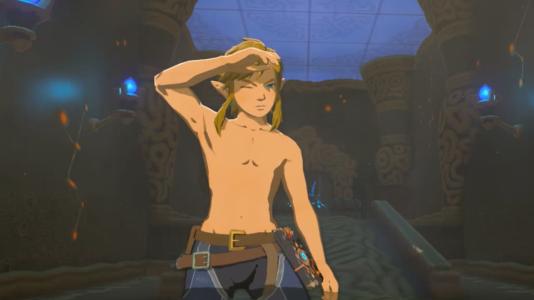 Dans« Breath of the Wild», sorti en mars 2017, le héros Link n'a pas de tétons.
