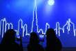 Une vue d'artiste de l'horizon de la ville à Dubaï, aux Emirats Arabes Unis, le mercredi 5 mars 2014.