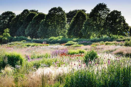 Le jardin du domaine Hauser & Wirth, à Bruton dans le Somerset, conçu parPiet Oudolf.