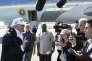 Le président américain Donald Trump à Fort Myers, en Floride, le 14 septembre.