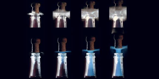 Les physiciens de l'équipe « effervescence » de l'université de Reims ont également trouvé une explication à ce phénomène.