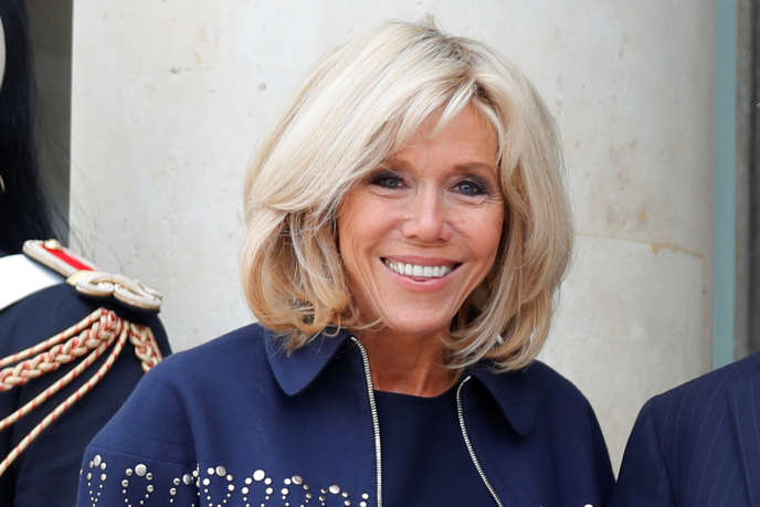 Brigitte Macron, à l'Elysée, le 15 septembre.
