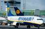 Un appareil de la compagnie low cost Ryanair, à Francfort-sur-le-Main (ouest de l'Allemagne), le 2 novembre 2016.