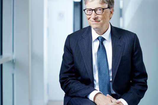 Bill Gates en octobre 2016.