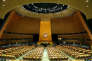 The General Assembly hall is seen at the U.N. Headquarters in New York City, U.S., September 17, 2017. REUTERS/Joe Penney