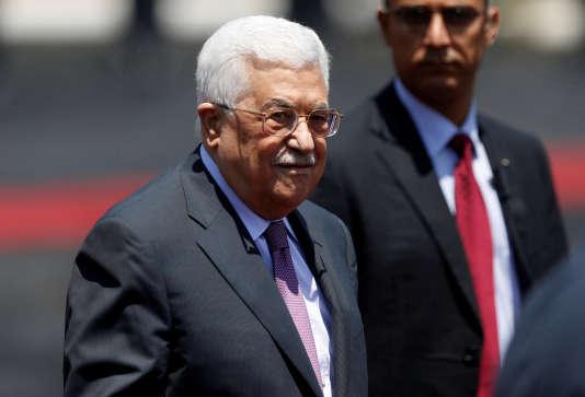 Mahmoud Abbas, le président de l'Autorité palestinienne, en août 2017.