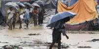 Camp de réfugié rohingya au Bangladesh.
