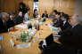 Réunion à Bercy entre les représentants des salariés de Nokia et le secrétaire d'Etat à l'économie, Benjamin Griveaux, le 17 septembre.