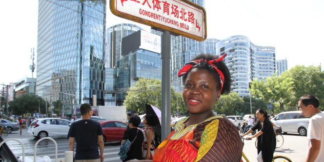 Maria Belgica Catalina Nvo Acaba est la seule étudiante équato-guinéenne à étudier à l'Académie du film de Pékin.