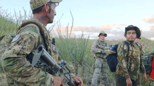 «Cartel Land», de Matthew Heineman avecTim Nailer Foley (à gauche).
