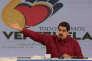 Nicolas Maduro, président du Venezuela lors de son émission dominicale télévisée « Domingos con Maduro», à Caracas, le 17 septembre.