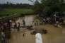 Des réfugiés rohingyas dans la région de Cox's Bazar, à la frontière birmano-bangladaise, le 18 septembre 2017.