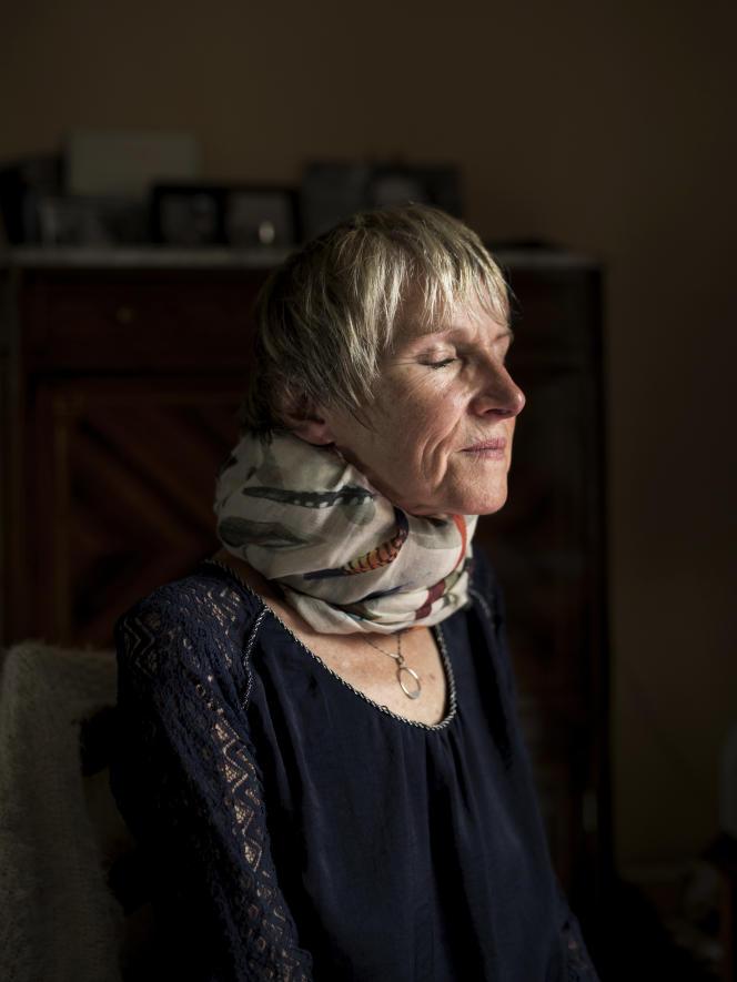 Anne Bert, àFontcouverte (Charente-Maritime), le 11 septembre.