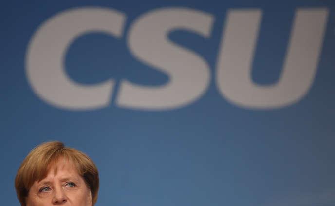 Angela Merkel, le 18 septembre.
