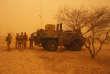 Une patrouille de l'opération « Barkhane» dans la région d'Inat, au Mali, en mai 2016.