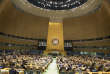United Nations General Assembly President Miroslav Lajcak the opens the 72nd regular session of the UN General Assembly Tuesday, Sept. 12, 2017 at United Nations headquarters. (AP Photo/Mary Altaffer)