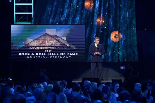 Jann Wenner, fondateur du magazine «Rolling Stone», le 7avril, lors des 32eRock and Roll Hall of Fame, à New York.